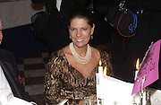 Princess  Irina Strozzi. Crillon Debutantes Ball 2002. Paris. 7 December 2002. © Copyright Photograph by Dafydd Jones 66 Stockwell Park Rd. London SW9 0DA Tel 020 7733 0108 www.dafjones.com