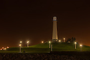 Lions Lighthouse at Long Beach Harbor California
