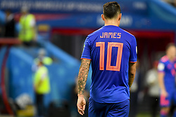 June 25, 2018 - Kazan, Russia - James Rodriguez of Colombia during the 2018 FIFA World Cup Group H match between Poland and Colombia at Kazan Arena in Kazan, Russia on June 24, 2018  (Credit Image: © Andrew Surma/NurPhoto via ZUMA Press)