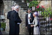 JONATHAN CHAMBERLAIN; AFIFI AL-AKILI; ELMA RAMLY, The Tercentenary Ball, Worcester College. Oxford. 27 June 2014