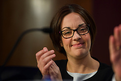 © Licensed to London News Pictures. 14/05/2016. London, UK. Leader of Scottish Labour Party, KEZIA DUGDALE gives as address to Progress annual conference at TUC Congress Centre in London. Photo credit: Ben Cawthra/LNP