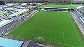 Aerial Newry City Athletic Football Club