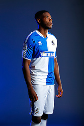 Nathan Blissett of Bristol Rovers poses in the new Home Strip ahead of the 2015/16 Sky Bet League Two campaign - Mandatory byline: Rogan Thomson/JMP - 07966 386802 - 22/07/2015 - SPORT - Football - Bristol, England - Memorial Stadium - Bristol Rovers Kit Launch.