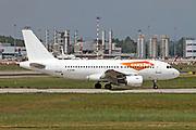G-EZEN asyJet Airbus A319-111 at Malpensa (MXP / LIMC), Milan, Italy
