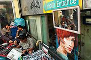 Street vendors, central Bangkok