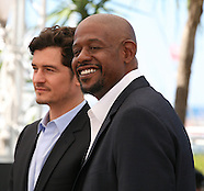 Orlando Bloom and Forest Whitaker at the Zulu film photocall