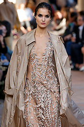Model Blanca Padilla walks on the runway during the Alberta Ferretti Fashion Show during Milan Fashion Week Spring Summer 2018 held in Milan, Italy on September 20, 2017. (Photo by Jonas Gustavsson/Sipa USA)