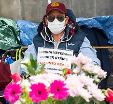 Gurkha Hunger Strike 13th August 2021