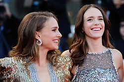 Stacy Martin and Natalie Portman attending the Vox Lux Premiere as part of the 75th Venice International Film Festival (Mostra) in Venice, Italy on September 04, 2018. Photo by Aurore Marechal/ABACAPRESS.COM