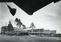 1952 CBS Television City on Beverly Blvd under construction