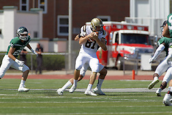 09 September 2017:  Caleb Conway during an NCAA division 3 football game between the Nebraska Wesleyan PRAIRIE WOLVES and the Illinois Wesleyan Titans in Tucci Stadium on Wilder Field, Bloomington IL