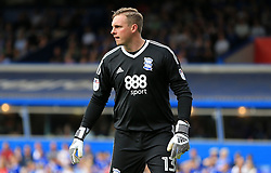 David Stockdale of Birmingham City - Mandatory by-line: Paul Roberts/JMP - 26/08/2017 - FOOTBALL - St Andrew's Stadium - Birmingham, England - Birmingham City v Reading - Sky Bet Championship