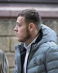© Licensed to London News Pictures. 09/10/2017. London, UK. George Walder is seen at Croydon Crown Court for trial over an attack on asylum seeker Reker Ahmed, 17  in Shrublands, Croydon in March 2017. Photo credit: Peter Macdiarmid/LNP