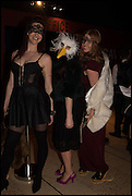 ELEANOR BALL; BEZ MAXIMUS; CAROLYN EVANS, The Dark Side of Love, Valentine's Masked Ball. the Coronet Theatre, Elephant and Castle. London. 13 February 2015.