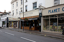 © Licensed to London News Pictures. 14/10/2013. London, UK. A general view of the Alounak Restaurant on  Westbourne Grove in London today (14/10/2013) where, according to witnesses, a 28 year old man was yesterday arrested plain clothes Metropolitan Police officers during a counter terrorism operation. In total four men were arrested across London. Photo credit: Matt Cetti-Roberts/LNP