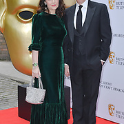 Louise Delamere and Stephen Mangan Arrivers at the British Academy Television Craft Awards on 28 April 2019, London, UK.