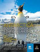 NG/LIndblad Expeditions cover image of penguins photo by Wildlife Photographer Jeff Mauritzen
