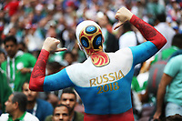 Football - 2018 FIFA World Cup - Group A: Russia vs. Saudi Arabia<br /> <br /> A Russian fan is seen at the Luzhniki Stadium, Moscow.<br /> <br /> COLORSPORT/IAN MACNICOL