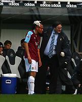 Photo: Andrew Unwin.<br /> Newcastle United v West Ham United. The Barclays Premiership. 20/01/2007.<br /> West Ham's Nigel Quashie (L) receives treatment for a head injury.
