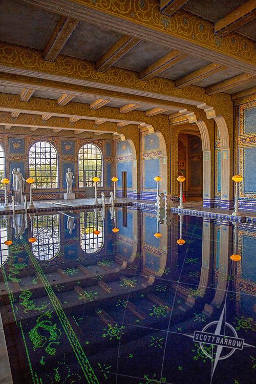 Hearst Castle.  San Simeon, CA.