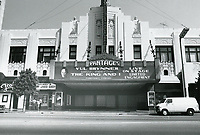 1979 The Pantages Theater