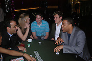 Flora Macloughlin, Ben Groom, James Cracknell and John Barnes. PARTYPOKER.COM masterclass hosted by poker author Tony Holden. Ultra Lounge, Selfridges. 11 May 2005. ONE TIME USE ONLY - DO NOT ARCHIVE  © Copyright Photograph by Dafydd Jones 66 Stockwell Park Rd. London SW9 0DA Tel 020 7733 0108 www.dafjones.com