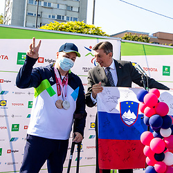 20210908: SLO, Paralympic - Reception of Slovenian Paralympic team
