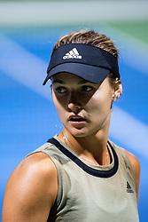 PORTOROZ, SLOVENIA - SEPTEMBER 18: Anna Kalinskaya of Russia during the Semifinals of WTA 250 Zavarovalnica Sava Portoroz at SRC Marina, on September 18, 2021 in Portoroz / Portorose, Slovenia. Photo by Matic Klansek Velej / Sportida
