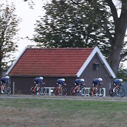 27-09-2016: Wielrennen: Olympia Tour: HardenbergHARDENBERG (NED) wielrennenNederlands oudste wielerkoers ging van start in Hardenberg met een ploegentijdrit. <br /> Team USA