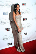 """December 6, 2012- New York, NY: Model Iman Chanel attends the ' Keep A Child Alive Black Ball """" Redux """" 2012 ' held at the Apollo Theater on December 6, 2012 in Harlem, New York City. The Benefit pays homage to Oprah Winfrey, Angelique Kidjo for their philanthropic contributions in Africa and worldwide and celebrates the power of woman and the promise of an AIDS-free Africa. (Terrence Jennings)"""