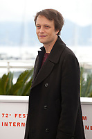 Actor August Diehl at A Hidden Life film photo call at the 72nd Cannes Film Festival, Sunday 19th May 2019, Cannes, France. Photo credit: Doreen Kennedy
