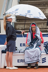 Caroline Garcia (France) at the 2017 WTA Ericsson Open in Båstad, Sweden, July 29, 2017. Photo Credit: Katja Boll/EVENTMEDIA.