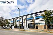 L'empresa de tallers mecànics TM Comas ubicada a Blanes Girona.