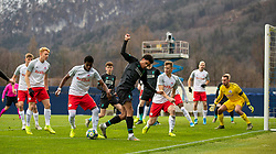 GRÖDIG, AUSTRIA - Tuesday, December 10, 2019: Liverpool's Ki-Jana Hoever during the final UEFA Youth League Group E match between FC Salzburg and Liverpool FC at the Untersberg-Arena. (Pic by David Rawcliffe/Propaganda)
