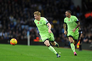 Kevin De Bruyne of Manchester city in action. Barclays Premier league match, Aston Villa v Manchester city at Villa Park in Birmingham, Midlands  on Sunday 8th November 2015.<br /> pic by  Andrew Orchard, Andrew Orchard sports photography.