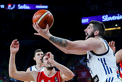 Ziga Dimec of Slovenia during the Final basketball match between National Teams  Slovenia and Serbia at Day 18 of the FIBA EuroBasket 2017 at Sinan Erdem Dome in Istanbul, Turkey on September 17, 2017. Photo by Vid Ponikvar / Sportida