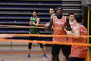 Biella, 14/12/2012<br /> Basket, All Star Game 2012<br /> Allenamento Nazionale Italiana Maschile <br /> Nella foto: awudu abass<br /> Foto Ciamillo