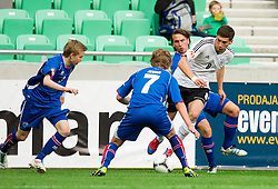Leon Goretzka of Germany during the UEFA European Under-17 Championship Group A match between Iceland and Germany on May 7, 2012 in SRC Stozice, Ljubljana, Slovenia. (Photo by Vid Ponikvar / Sportida.com)