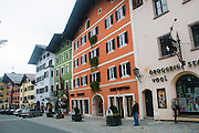 Kitzbühel a small medieval town in Tyrol, Austria