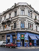 """Admire well-preserved old buildings in San Telmo (""""Saint Pedro González Telmo""""), the oldest historic neighborhood (barrio) in the heart of Buenos Aires, Argentina, South America."""