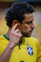 Fred na partida entre Brasil x Colombia, válida pelas quartas de final da Copa do Mundo 2014, no Estádio Castelão, em Fortaleza-CE. FOTO: Jefferson Bernardes/ Agência Preview