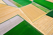 Nederland, Friesland, Gemeente Kollumerland en Nieuwkruisland, 05-08-2014; Polder Wieringa, ten noordoosten van Munnekezijl.<br /> Polder, north Netherlands.<br /> luchtfoto (toeslag op standard tarieven);<br /> aerial photo (additional fee required);<br /> copyright foto/photo Siebe Swart