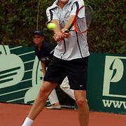 Finale eredivisie playoffs 2004 tennis Hilverheide - De Manege, Dennis van Scheppingen