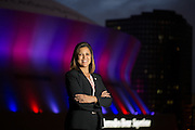 This is Michelle Gobert in New Orleans. The superdome is in the background.