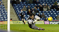 Photo: Leigh Quinnell.<br /> West Bromwich Albion v Norwich City. Coca Cola Championship. 11/11/2006. Norwich goalkeeper Paul Gallacher pulls off another fine save.