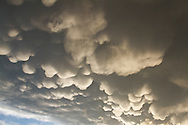 63891-02409 Mammatus clouds after storm,  Marion Co. IL