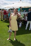 PETRA NEMCOVA, Cartier International Polo. Smiths Lawn. Windsor. 24 July 2011. <br /> <br />  , -DO NOT ARCHIVE-© Copyright Photograph by Dafydd Jones. 248 Clapham Rd. London SW9 0PZ. Tel 0207 820 0771. www.dafjones.com.