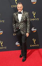 Ross Mathews  bei der Verleihung der 68. Primetime Emmy Awards in Los Angeles / 180916<br /> <br /> *** 68th Primetime Emmy Awards in Los Angeles, California on September 18th, 2016***