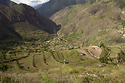 Saraguro - Friday, Jan 04 2008: View of valley outside of Saraguro, Loja Province, Ecuador.  (Photo by Peter Horrell / http://www.peterhorrell.com)
