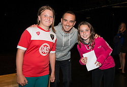 England manager, Mark Sampson poses for photos with fans - Mandatory byline: Dougie Allward/JMP - 07966386802 - 05/09/2015 - FOOTBALL - SGS Wise Campus -Bristol,England - Bristol Academy Womens v Birmingham City Ladies - FA Womens Super League